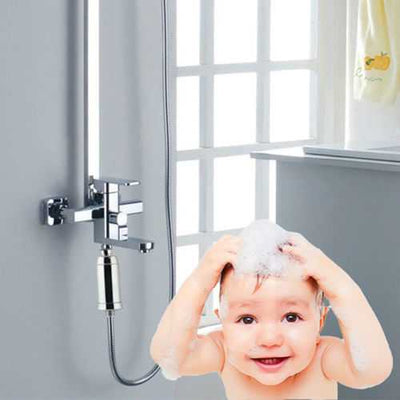Chlorine Shower Water Filter Eliminates Hairloss Hard Water Shower Purifiers Skin and Hair Care