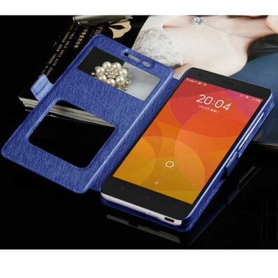Bakeey Flip Dual Window Stand Magnetic PU Leather Cover Case For Xiaomi Mi A1 / Xiaomi Mi 5X