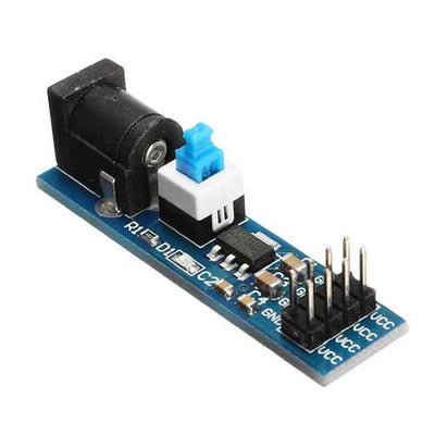 AMS1117 5V Power Supply Module With DC Socket And Switch