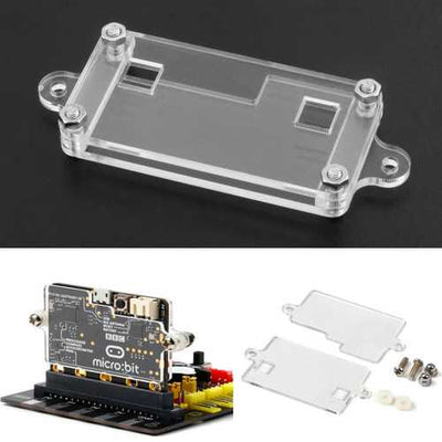 Transparent Acrylic Shell Kit For BBC Micro: bit Development Module Case Protection Shell