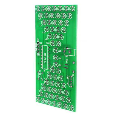 DIY Electronic Hourglass Kit Interesting Learning Kit MCU DIY LED Flash Kit Spare Parts