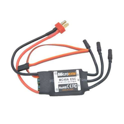 Microzone MC 2-4S 40A Brushless ESC With 5V/2A BEC For RC Model