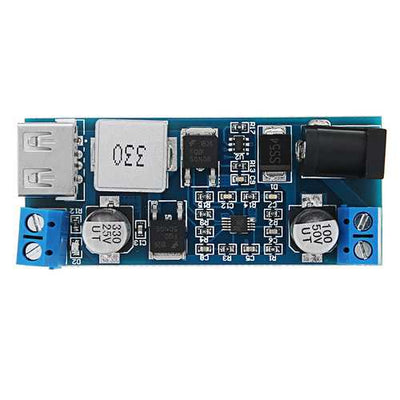 XH-M249 DC5V 6A Step Down Module 12V/24V to 5V Power Supply USB Charging 5A 30W