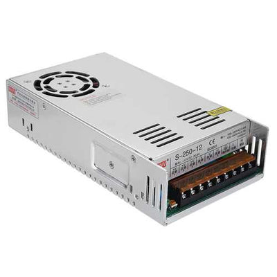 NVVV AC 110-220V To DC 12V 250W Switching Power Supply for The Monitoring LED Strips Automation
