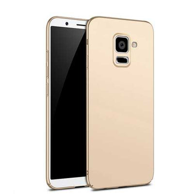 Bakeey Slim Anti Fingerprint Hard PC Case For Samsung Galaxy A8 Plus 2018