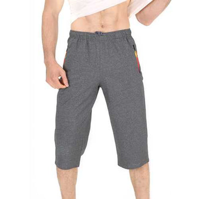Mens Color Blocking Moisture Wicking Calf-Length Pants