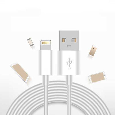 JDB 1M Data Cable for Lightning Fast Charging Data Cable For iPhone X 8 8Plus 7 7Plus SE 6s
