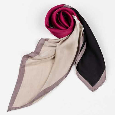 Women Satin Hair Scarf Wrap Headscarf Ties Silk Scarves