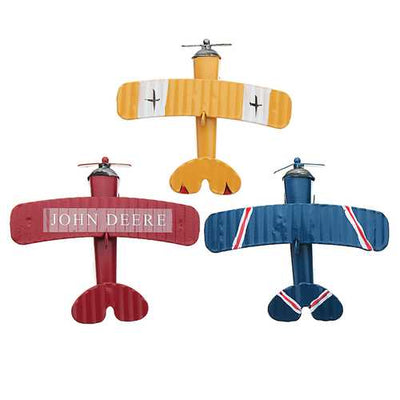 Zakka Plane Toy Classic Model Collection Childhood Memory Antique Tin Toys Home Decor