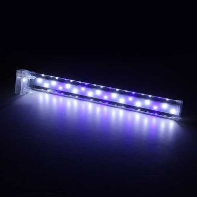 38CM Crystal LED Aquarium Light Clip on Plant Grow Fish Tank Lighting Lamp AC220V