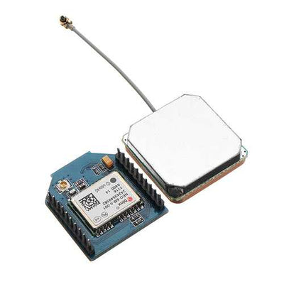 Duinopeak 9600 GPS Bee Module With GPS Ceramic Antenna Compatible xBee Feet