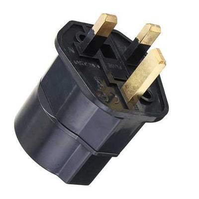 Universal Power Travel Plug Adapter Converting from Germany EU to UK GB England