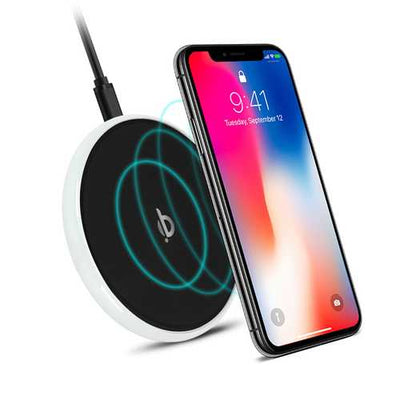 HALO Universal 10W Fast Charge QI Wireless Charger for Samsung S8 S9 Note 8 for iPhone 8
