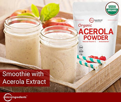 Pure Acerola Cherry Vitamin C Powder