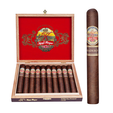 Image of K BY Karen Berger  Maduro Box of 10 cigars