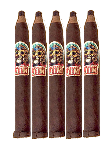 Image of Island Jim #2  6.5X52  San Andres   - 5 Pack Cigars ,free sunglasses Island Jim