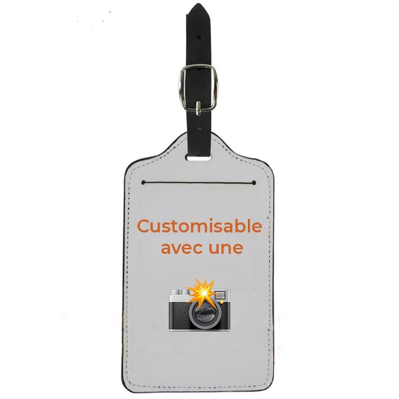 Étiquette Bagage <br> Customisable