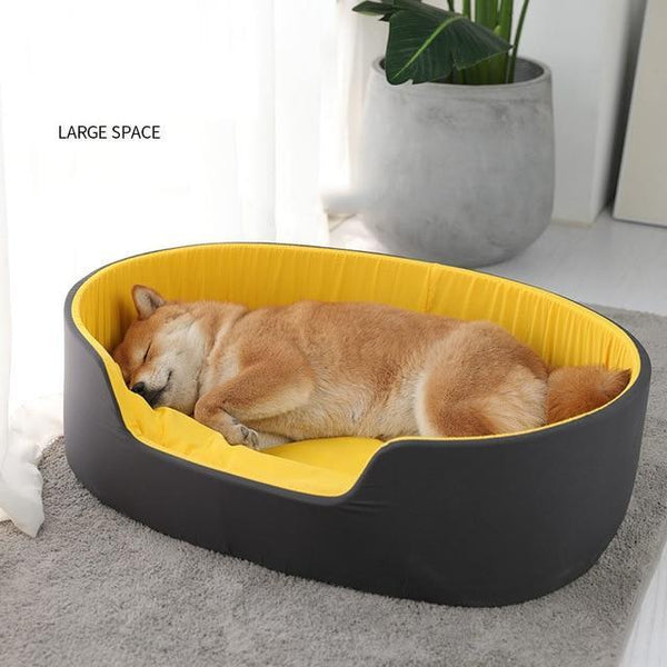 3D WASHABLE PET BED FOR DOGS dog bed 1 Novo Lifestyles yellow 49x35x18
