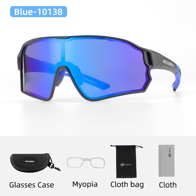 Road Cycling Glasses Mountain Bike Bicycle Riding Protection Goggles