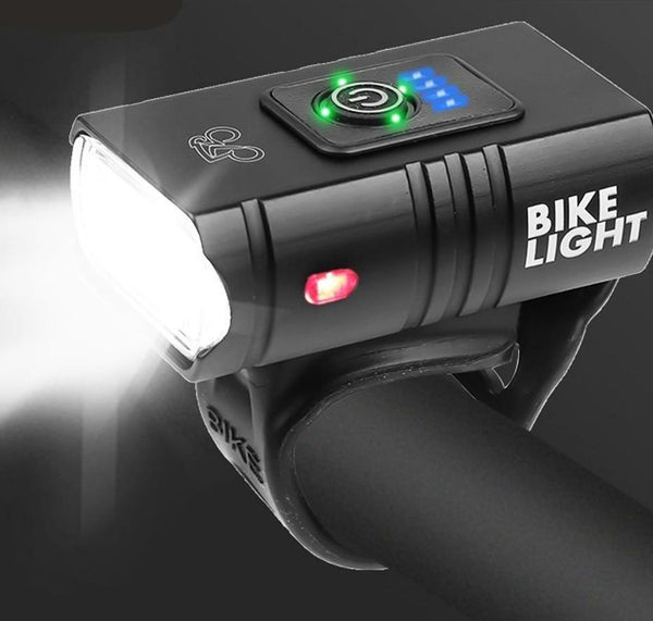 USB Rechargeable Bike Light Super Bright T6 LED Bicycle Headlight