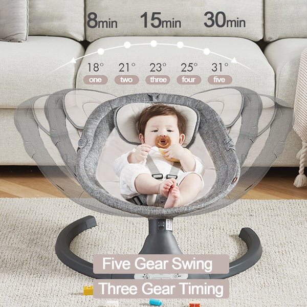 Baby Electric Auto Swing with Remote Control