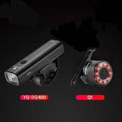Bicycle Handlebar Front Lamp MTB Rode Cycling USB Rechargeable Flashlight