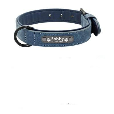 Dog Collars Custom Leather Personalized