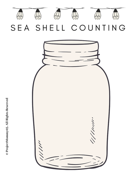 SEA SHELL COUNTING
