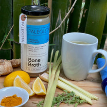Load image into Gallery viewer, Paleoista Bone Broth, Organic Pasture Raised Chicken Bone Broth With Lemongrass, 16oz