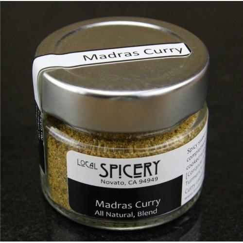 Local Spicery, Madras Curry, All Natural, Hand-Blended