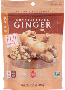 Ginger People, Crystalized Ginger Candy, 3.5 oz