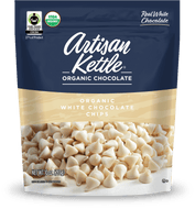 Artisan Kettle, Organic Chocolate Chips, White Chocolate, 10 oz