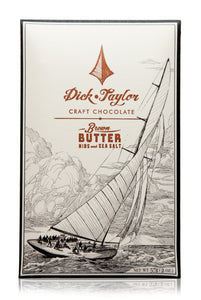Dick Taylor Chocolates, Brown Butter with Nibs & Sea Salt, Dark 73%