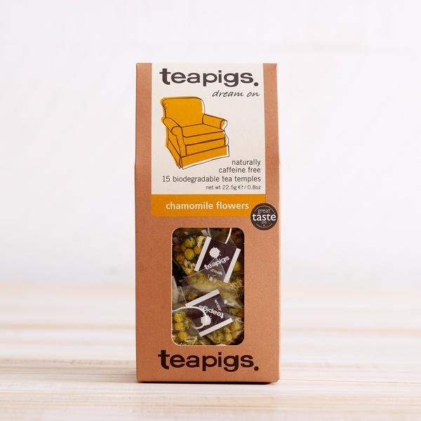 Teapigs, Dream On, Chamomile Flowers, 15 Templates