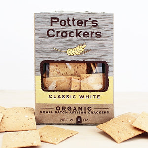 Potter's Crackers, Classic White, 5 oz