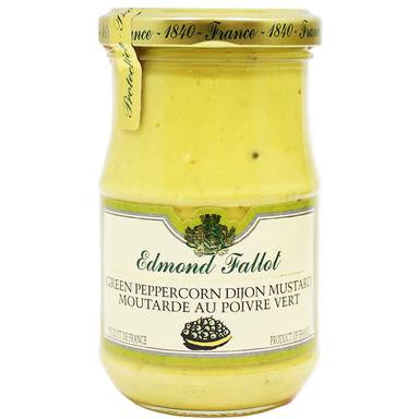 Edmond Fallot, Green Peppercorn Dijon Mustard, 7.4 oz