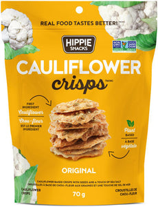 Hippie Snacks, Cauliflower Crisps, Original, 2.5 oz