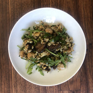 Farmshop, Pearled Farro with Pesto, Marcona Almonds & Dried Figs, 8 oz