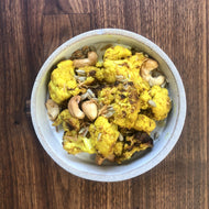 Farmshop, Roasted Curried Cauliflower, Cashews, Golden Raisins & Sunflower Seeds, 8 oz