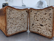 Farmshop Bakery, Whole Wheat Multigrain, Pullman, Sliced