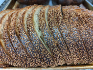 Farmshop Bakery, Sesame Whole Wheat Rye, Sliced