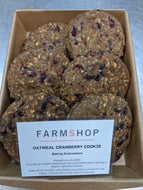 Farmshop Bakery, Frozen Oatmeal Cranberry Cookies, 6 pk