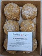 Farmshop Bakery, Frozen Peanut Butter Cookies, 6 pk