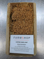 Farmshop Bakery, Frozen Coffee Cake Loaf, 1 Lb