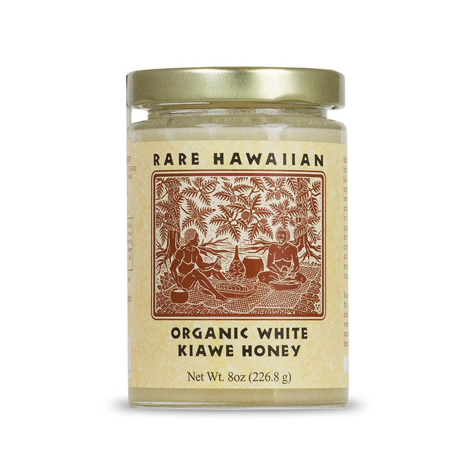 Rare Hawaiian, Organic White Kiawe Honey, 8 oz