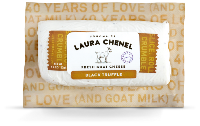 Laura Chenel, Black Truffle, 5.4 oz