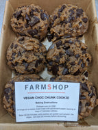 Farmshop Bakery, Frozen Vegan Chocolatey Chunk Cookies, 6 pk
