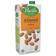 Pacific Foods, Unsweetened, Almond Beverage, 1 qt
