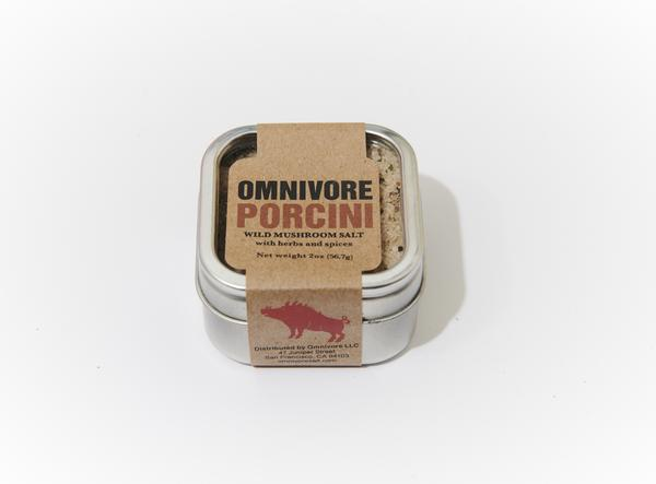 Omnivore, Sea Salt, Porcini, 2 oz