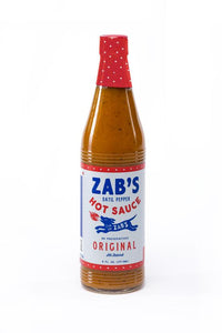 Zab's, Original Style Hot Sauce, 6 oz